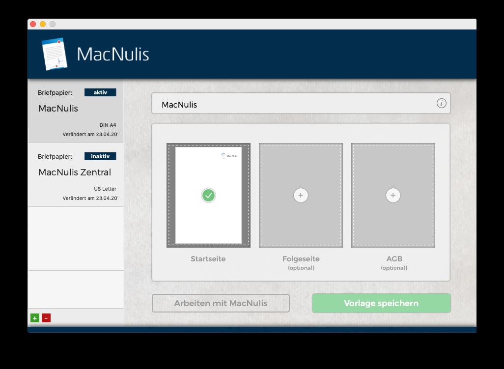 Bildschirmfoto von MacNulis: So sieht MacNulis auf Ihrem Mac aus.